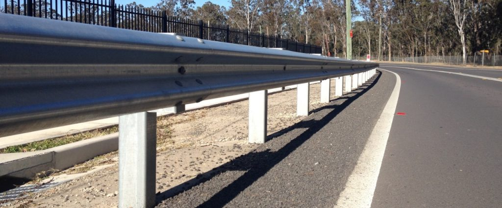 guard rail safety barrier