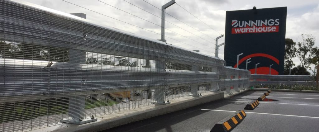 safety barrier guard rail bunnings