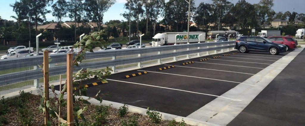 car park guard rail